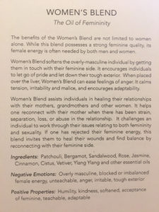 doTERRA Clary Calm is a wonderful support for women with prolapsed uterus.