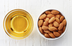 Used topically and internally, almond oil is wonderful for fostering healthy hair and skin.
